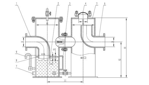 水罐压力控制器接线图
